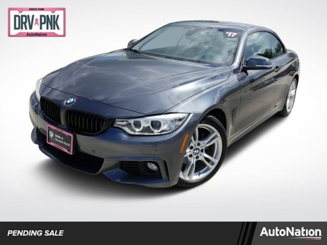 2017 BMW 430i w/ SULEV Convertible