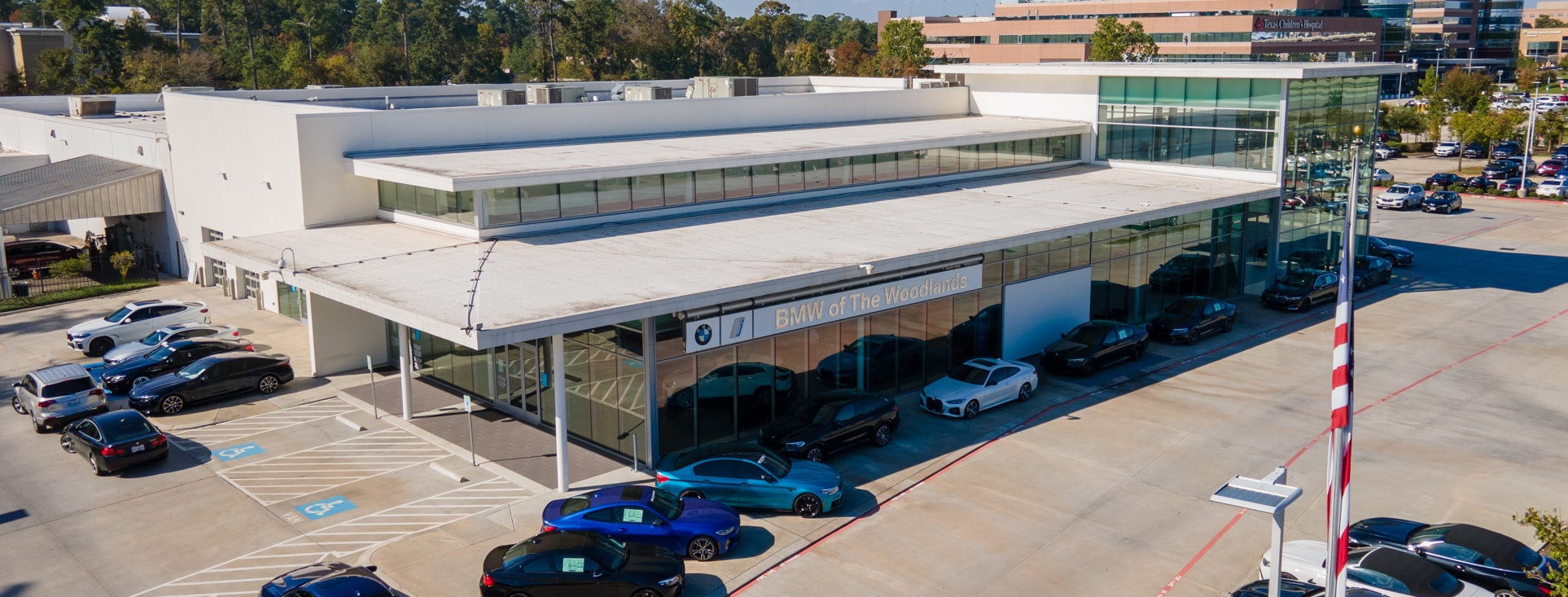 BMW of The Woodlands offers sales, service, and parts in The Woodlands
