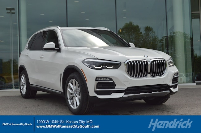 New 2019 BMW X5 xDrive40i in Kansas City, MO