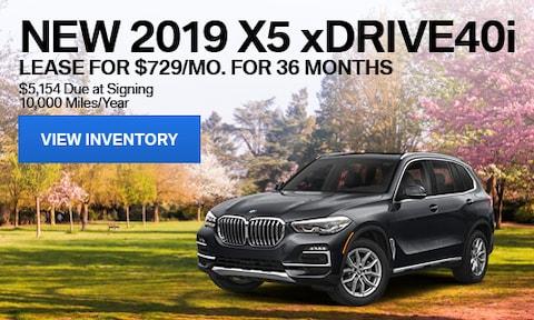 New 2019 X5 xDrive40i