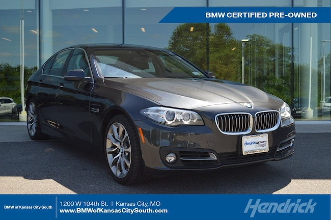 Certified Pre-Owned 2016 BMW 5 Series 535i xDrive Sedan Kansas City