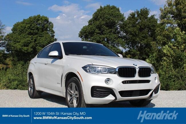 New 2019 BMW X6 xDrive35i in Kansas City, MO