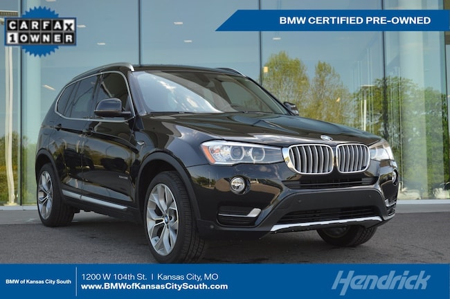 Certified Pre-Owned 2017 BMW X3 xDrive28i SUV Kansas City