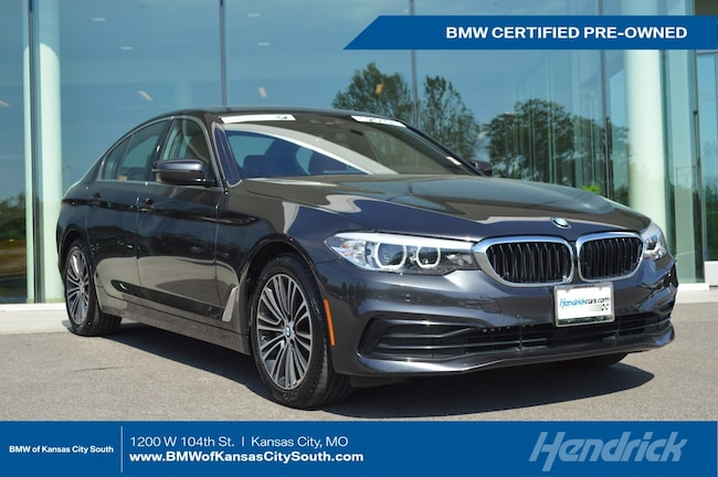 Certified Pre-Owned 2019 BMW 5 Series 530i xDrive Sedan Kansas City