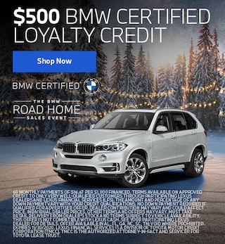 $500 Loyalty Credit