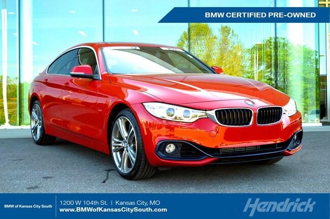 Certified Pre-Owned 2016 BMW 4 Series 428i xDrive Sedan Kansas City
