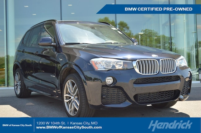 Certified Pre-Owned 2017 BMW X3 xDrive28i SUV Kansas City