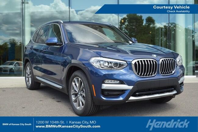 New 2019 BMW X3 xDrive30i SUV in Kansas City, MO