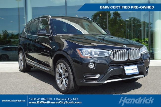 Certified Pre-Owned 2017 BMW X3 xDrive35i SUV Kansas City