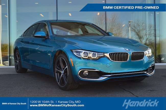 Certified Pre-Owned 2019 BMW 4 Series 430i xDrive Sedan Kansas City