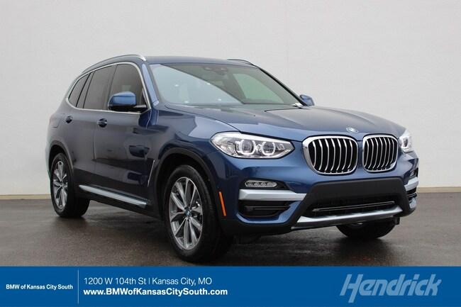 New 2019 BMW X3 xDrive30i in Kansas City, MO