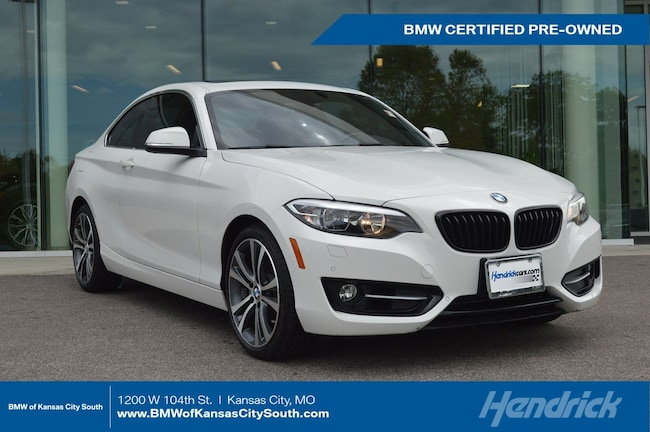 Certified Pre-Owned 2016 BMW 2 Series 228i xDrive Coupe Kansas City