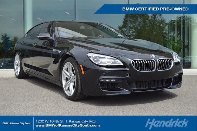 Certified Pre-Owned 2016 BMW 6 Series 640i xDrive Sedan Kansas City