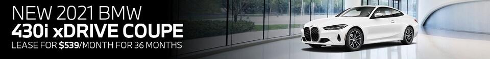 New 2021 BMW 430i
