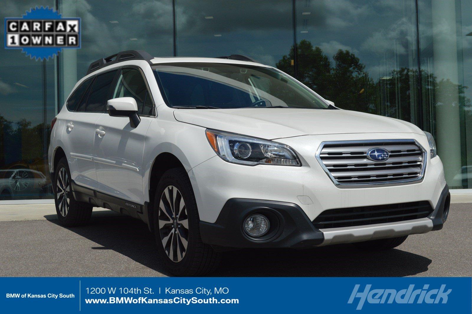 Subaru Kansas City >> 2016 Subaru Outback 2 5i Limited Suv In Kansas City