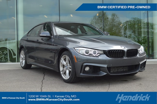 Certified Pre-Owned 2016 BMW 4 Series 428i xDrive Sedan Kansas City