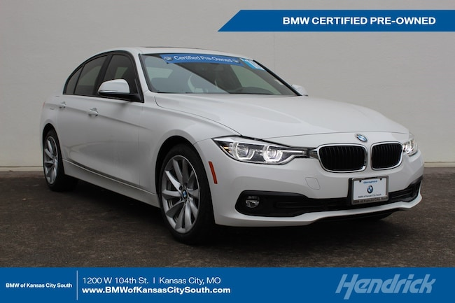 Certified Pre-Owned 2018 BMW 3 Series 320i xDrive Sedan Kansas City