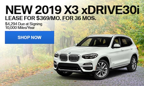 New 2019 X3 xDrive30i