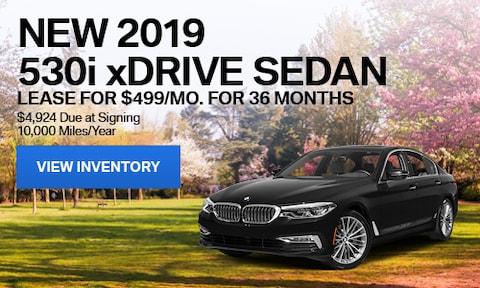 New 2019 530i xDrive Sedan