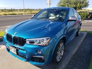 2017 BMW X4 M40i Sports Activity Coupe