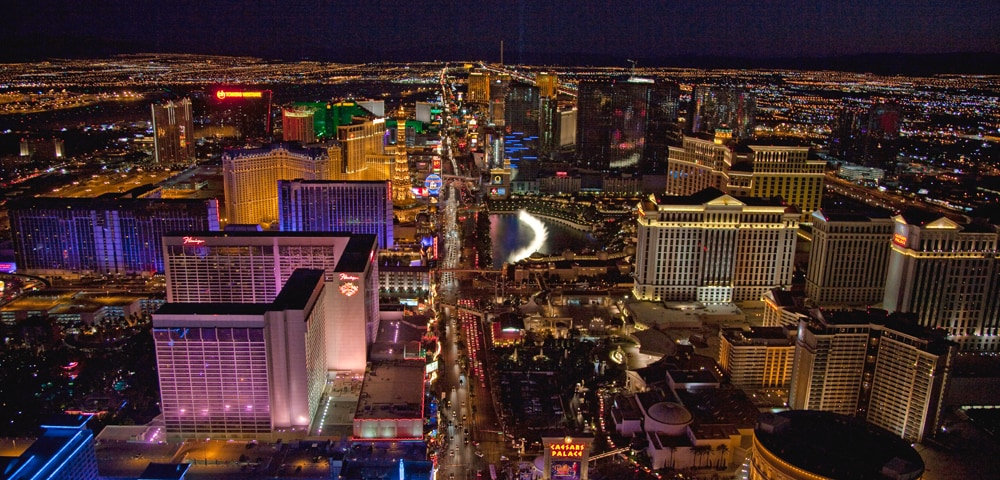 View of Las Vegas, Nevada