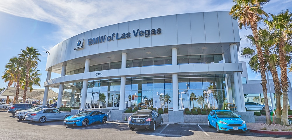 Exterior view of BMW of Las Vegas serving Henderson
