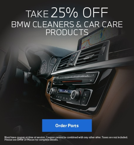25% Off BMW Cleaners & Care Care Products