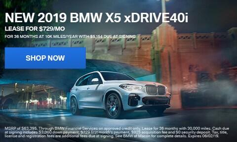 New 2019 BMW X5