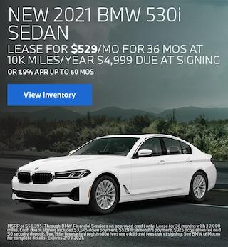 January BMW 2021 530i