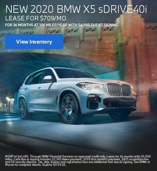 New 2020 BMW X5