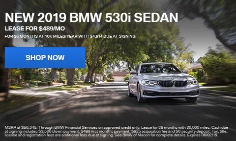 New 2019 BMW 530i