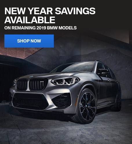 New Year Savings Available on Remaining 2019 BMW Models