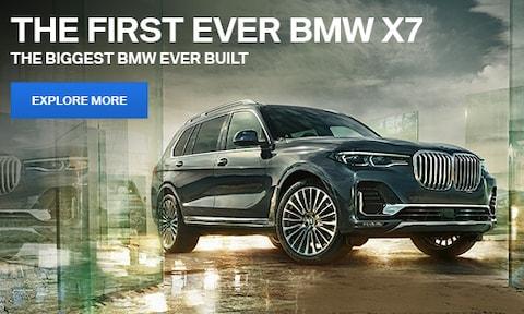First Ever BMW X7