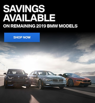 March - Savings Available on Remaining 2019 BMW Models