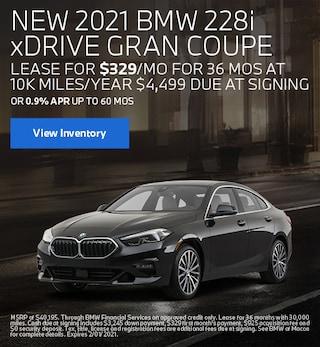 January BMW 2021 228i