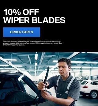 10% Off Wiper Blades
