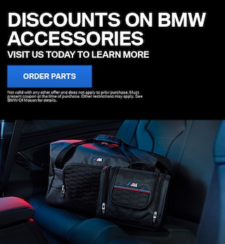 Discounts on BMW Accessories