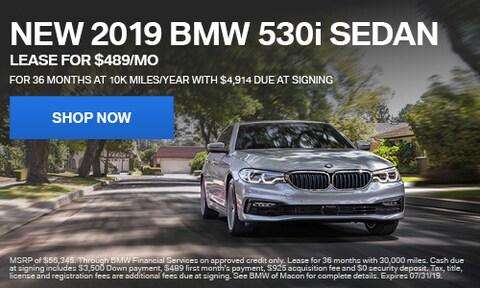 2019 BMW 530i Offer