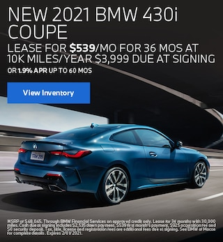 January BMW 2021 430i