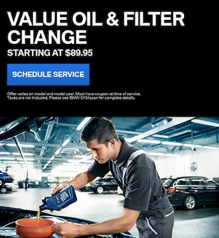 Value Oil & Filter Change