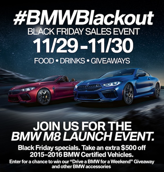 Bmwblackout Black Friday Sales Event Bmw Of Maui