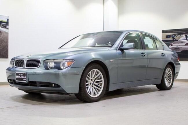 2003 BMW 745i Sedan