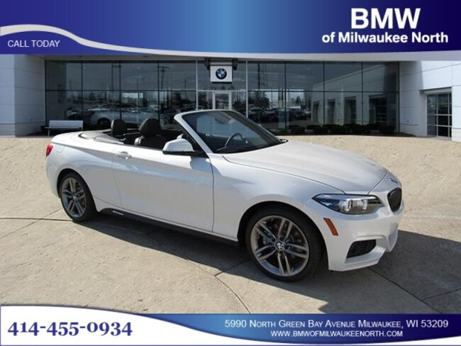 Certified Pre-Owned luxury vehicles 2018 BMW 230i xDrive Convertible for sale near you in Milwaukee, WI
