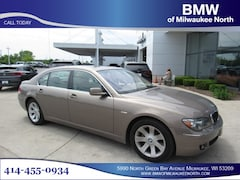 Bargain used luxury vehicles 2007 BMW 750Li Sedan for sale near you in Milwaukee, WI