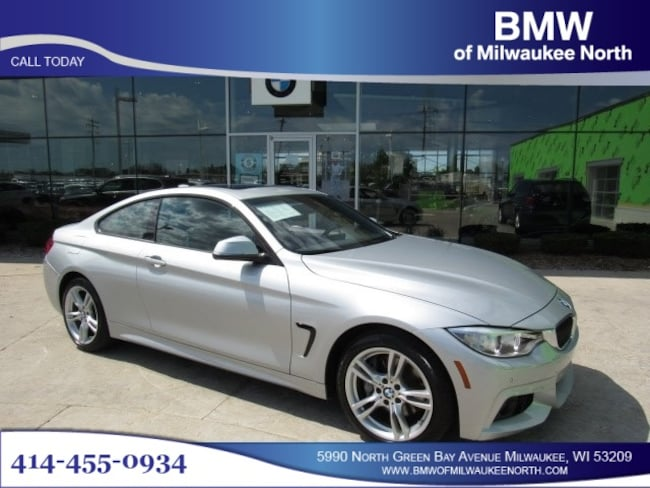 Certified Pre-Owned luxury vehicles 2016 BMW 428i xDrive SULEV Coupe for sale near you in Milwaukee, WI