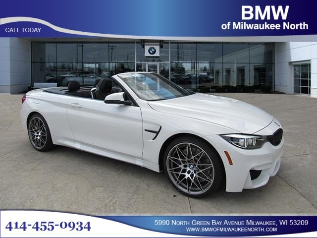Featured new luxury vehicles 2018 BMW M4 Convertible Convertible for sale near you in Milwaukee, WI