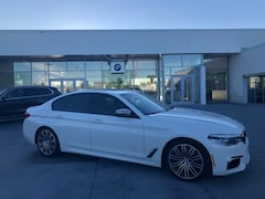Certified Pre-Owned luxury vehicles 2018 BMW 5 Series M550i xDrive Sedan  for sale near you in Milwaukee, WI