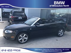 Bargain used luxury vehicles 2008 Audi A4 3.2 Convertible for sale near you in Milwaukee, WI