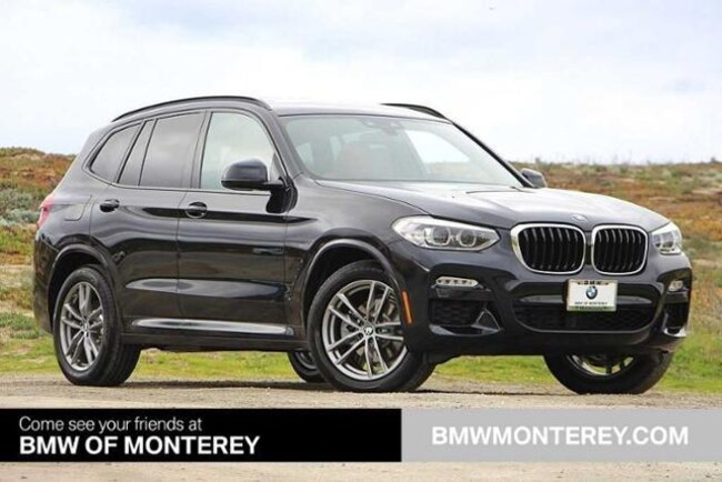 d7fac6f05f8e New 2019 BMW X3 sDrive30i SAV Carbon Black For Sale in Seaside CA ...