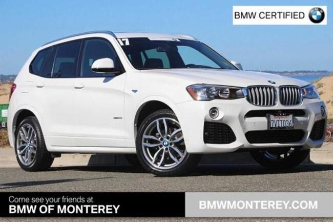 Used 2017 BMW X3 Seaside, CA